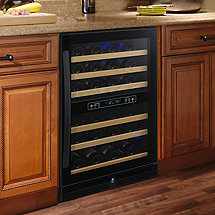 Q-50 Bottle Dual Zone Wine Cellar (Outlet)