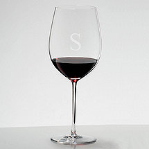 Personalized Riedel Sommeliers Cabernet/Merlot/Bordeaux Wine Glass  (1)