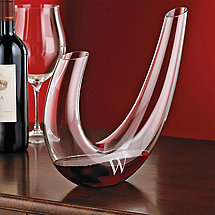 Personalized Wine Enthusiast Parabola Wine Decanter
