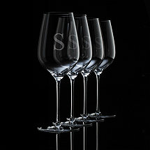 Personalized Fusion Air Universal Wine Glasses (Set of 4)