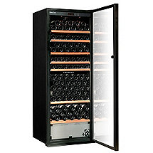 EuroCave Performance 283 Dual Zone Wine Cellar (Black - Glass Door) (Outlet A)
