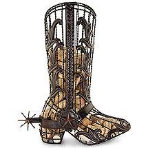 Cowboy Boot Cork Cage