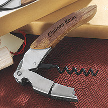 Personalized Origine Reclaimed Wine Barrel Waiter's Corkscrew (Wine Stained)