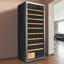 Wine Enthusiast Classic XL 300 Wine Cellar (Stainless Steel)