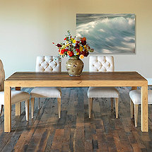 Reclaimed Wood Beam Leg Dining Table (84 X 40)