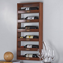 Library 6 Bottle Wine Rack (Vertical)