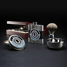 Men�s Grooming Set In Humidor Cigar Box