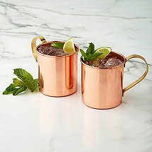 Copper Mugs (Set of 2)