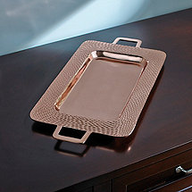 Copper Serving Tray (21 in. X  10 3/4 in.)