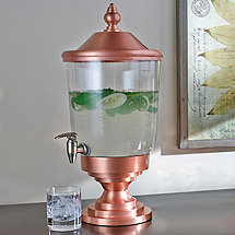 Copper Beverage Dispenser