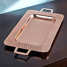 Copper Serving Tray (27 in. X  15 in.)