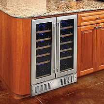 N'FINITY PRO 38 Dual Zone Wine Cellar (Stainless Steel) (Outlet)