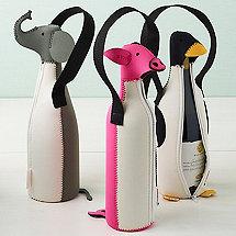Animal Wine Totes (Set of 3)