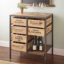 Vino Vintage Island Table
