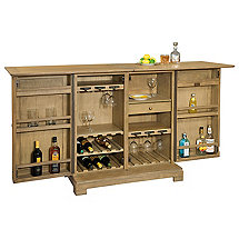 Howard Miller Walker Bay Hide-A-Bar Console