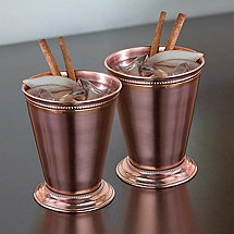 Copper Mint Julep Cups (Set of 2)