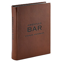 Genuine Leather American Bar Recipe Book