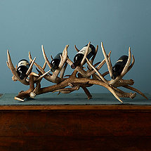 Antler Wine Rack (4 Bottles)