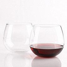 Wine Enthusiast Pinot Noir Stemless Wine Glasses (Set of 8)