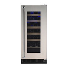 American Designer Series 24-Bottle Wine Refrigerator (Stainless Steel Door - Right Hinge) (Outlet B)