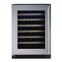 American Designer Series 54-Bottle Wine Refrigerator (Stainless Steel Door - Left Hinge) (Outlet B)