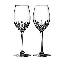 Waterford Lismore Essence White Wine Goblets (Set of 2)