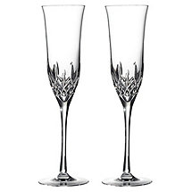 Waterford Lismore Essence Champagne Glasses (Set of 2)