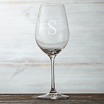 Personalized Fusion Table White Wine Glasses (Set of 6)