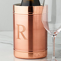 Personalized Copper Wine Chiller