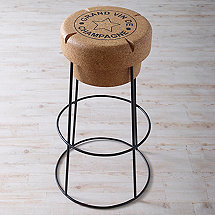 Champagne Cork Bar Stool