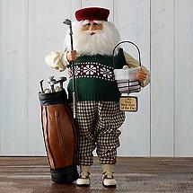 Karen Didion Golf Santa
