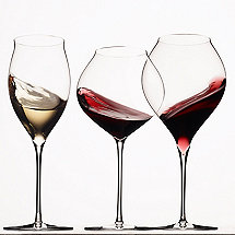 Zafferano Ultralight Red, White & Sparkling Wine Glass Collection (Set of 6)