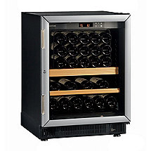 EuroCave Performance 59 Built-In Wine Cellar (Black - Glass Door with Brushed Aluminum Trim) (Outlet A)