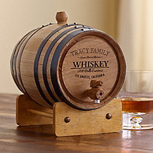Personalized Handcrafted American Oak Barrel
