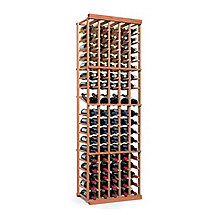 N'FINITY Wine Rack Kit - 5 Column with Display (All Heart Redwood)