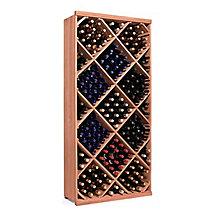 N'FINITY Wine Rack Kit - Diamond Bin (All Heart Redwood)