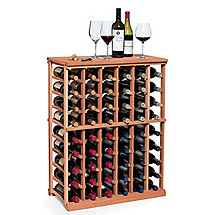 N'FINITY Wine Rack Kit - 6 Column Half Height (All Heart Redwood)