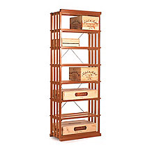 N'FINITY Wine Rack Kit- Rectangular Bin (All Heart Redwood)