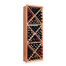 N'FINITY Wine Rack Kit - Diamond Cube (All Heart Redwood)