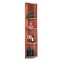 N'FINITY Wine Rack Kit- Quarter Round Shelf (All Heart Redwood)
