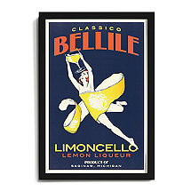 Personalized 'Limoncello' Framed Print