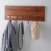 Personalized Barrel Stave Coat Rack