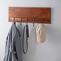 Barrel Stave Coat Rack