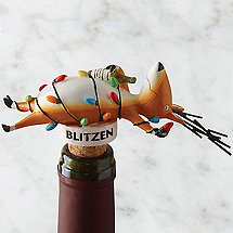 Blitzen Bottle Stopper
