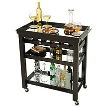 Howard Miller Pienza Wine and Bar Cart