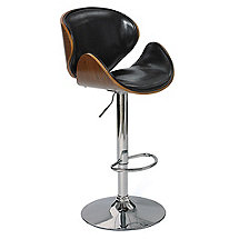 Leather Barber Barstool