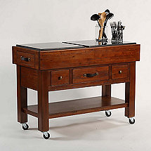 Outback Kitchen Island Work Bench