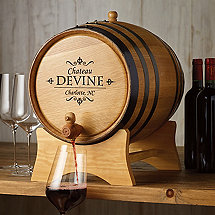 Personalized 20 Liter Barrel Beverage Dispenser