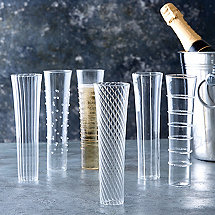 Celebrate Stemless Champagne Flutes (Set of 6)