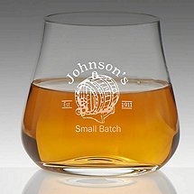 Personalized Small Batch Whiskey Glass (Set of 2)